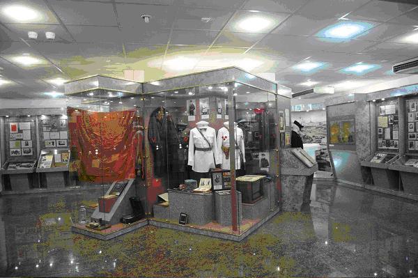 Экспозиции музея МВД России